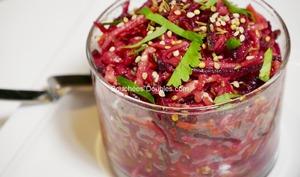 Salade rouge aux 5 légumes