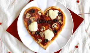 Pizza coeur
