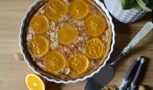 Tarte amande-orange