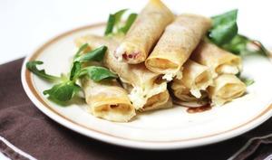 Cigares au fromage de raclette