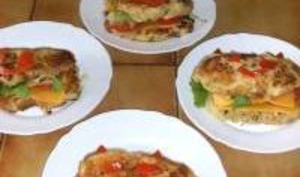 Burgers aux Pommes de Terre / Fromage
