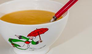 Soupe de rutabaga au sirop d'érable