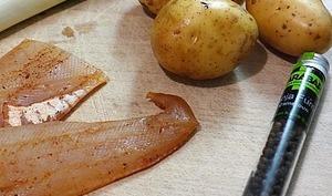 Soupe haddock fumé