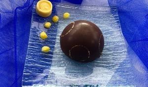 Dômes au chocolat et à l'orange