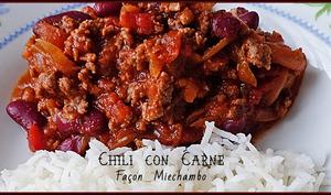 Chili con carne express à ma façon