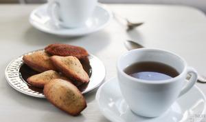 Les madeleines à la bergamote
