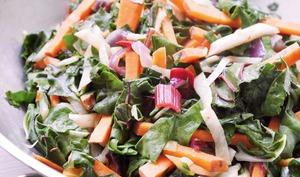 Cataplana alcaline de 3 légumes