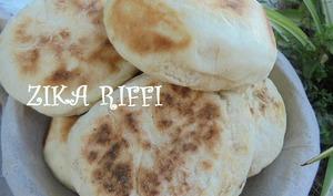 Batbout marocain à la poêle