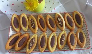 Barquettes au chocolat maison