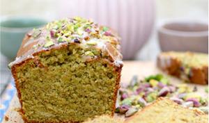 Cake à la pistache et à la fleur d'oranger