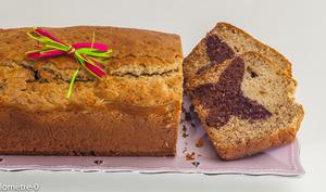 Gâteau du matin printanier amande, vanille, chocolat