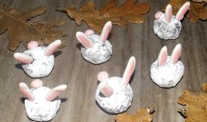 Truffes lapin de Pâques