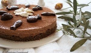 Entremet chocolaté