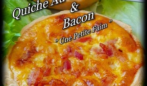 Quiche au camembert et bacon