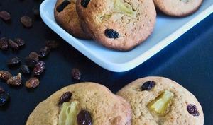 Cookies ananas raisins secs