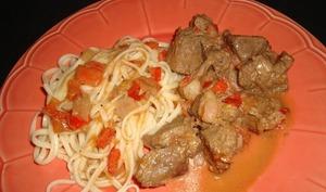Bœuf sauté aux tomates et au poivre de sichuan