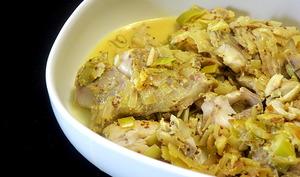 Filets de lieu au curry