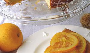 Gâteau aux oranges confites
