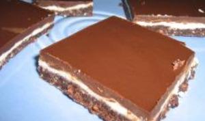 Carrés de Chocolat à la Menthe