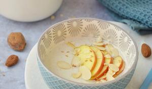 Crème budwig à la pomme et à l'amande