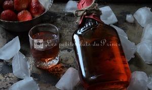 Liqueur vodka fraise aux fruits frais