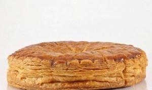 Galette des rois frangipane et pâte feuilletée inversée