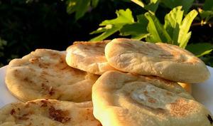 Petits pains à la poêle