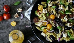 Salade de penne à la grecque