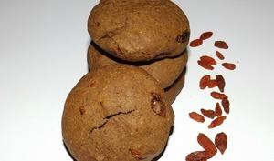 Cookies choco aux baies de Goji