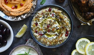 Caviar d'aubergine iranien
