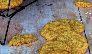 Cookies flocons d'avoine et raisins blonds