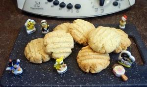 Biscuits au beurre et à la fleur d'oranger au thermomix