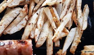 Frites de choucou/chayotte