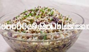 Quinoa au haricots rouges simple et facile