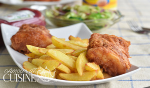 Fish and chips anglais