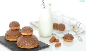 Religieuses au caramel beurre salé