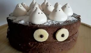 Molly cake chocolat monstre