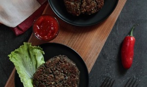 Burger végétarien aux lentilles