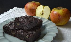 Brownies aux pommes