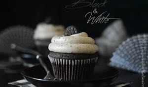 Cupcake aux Oreo