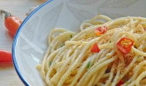 Spaghetti ail, huile et piment