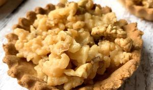Tartelettes aux noix et caramel