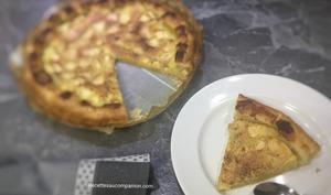 Tarte crème d'amande et pomme