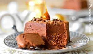 Marquise au chocolat et crème de marron
