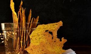 Croustilles potimarron, zaatar