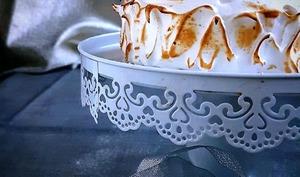 Omelette norvégienne café-caramel au beurre salé