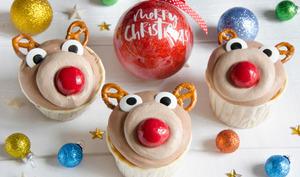 Cupcakes tête de rennes