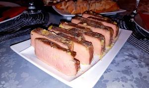 Foie gras entier maison à la liqueur de châtaignes