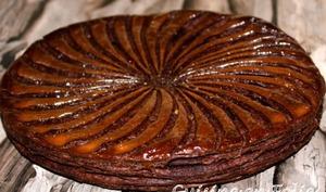 Galette chocolat-poire