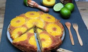 Gâteau à l'ananas et noix de coco